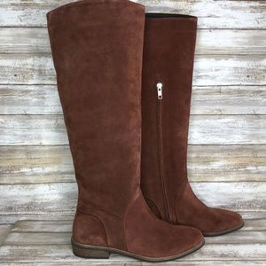 NEW UGG Daley 7M Soft Chestnut Suede Pull On Boots